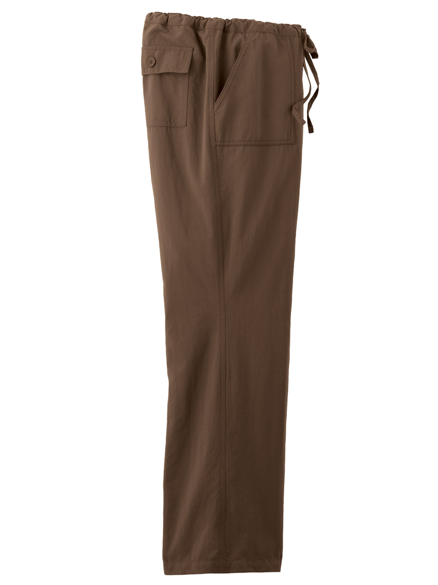 Women's Essence Mid Rise Straight Leg Drawstring Scrub Pants is rated out of 5 by Rated 4 out of 5 by ilikecookies from Very soft and comfortable I recently purchased these for work. I am very happy with the material.