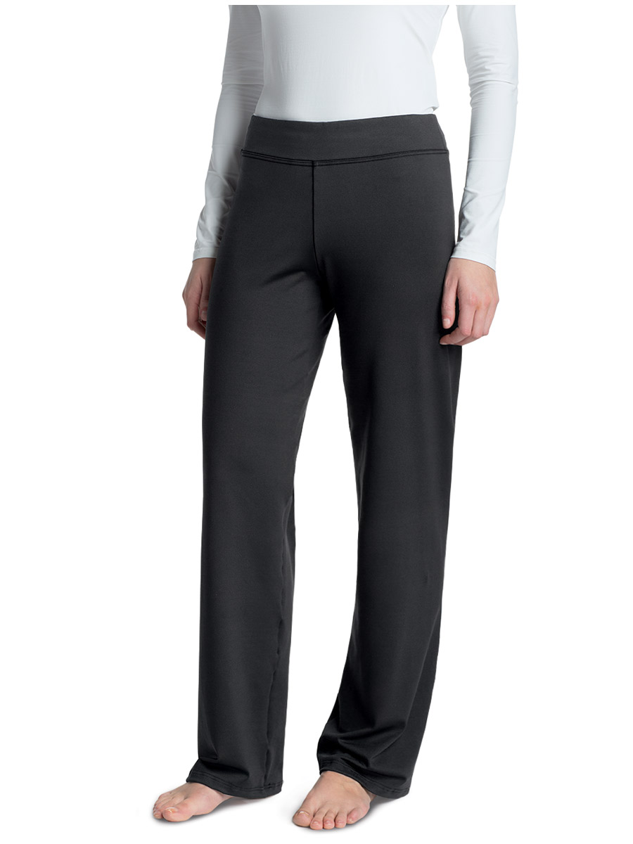 Expand your active wardrobe with these Women's Dri-More Core Relaxed Fit Yoga Pants. They're made with a cotton-polyester-and-spandex blend for a soft feel and a stretchy fit that hugs your curves. The relaxed fit pants feature Dri-Works to wick away moisture caused by perspiration/5().