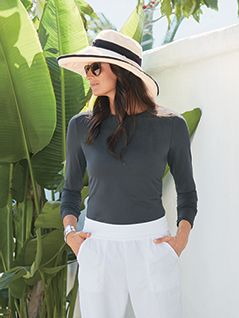 Women's BodyShade<sup>®</sup> Crew Neck Top