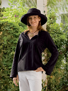 Women&#39;s UltraShade<sup>&#153;</sup> Peasant Top