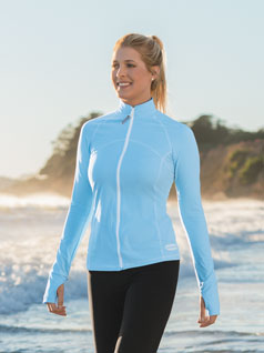 Women's Zip Front Reef Top
