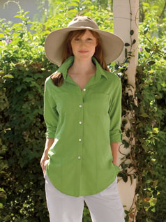 Women's Slim Tunic Shirt