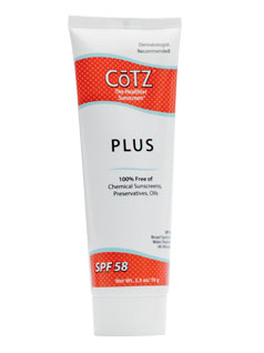 CoTZ<sup>&#174;</sup> Plus SPF 58