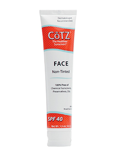 CoTZ<sup>&#174;</sup> SPF 40 FACE No Tint