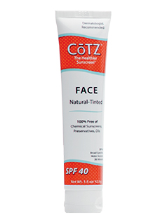 COTZ<sup>®</sup> Face SPF 40 - Medium Tint