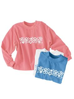 Kid's Floral SPT®-Shirt