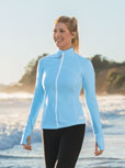 View Women's Zip Front Reef Top